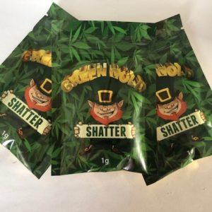 Green Gold Shatter - Hamilton
