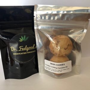 Dr. Feelgood's Skor Cookies