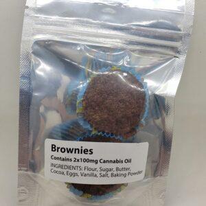 100mg Brownies Edibles - Best Online Weed Store Hamilton Ontario